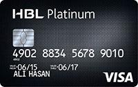 Habib Bank HBL Platinum Credit Card