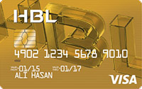 Habib Bank HBL Gold Credit Card